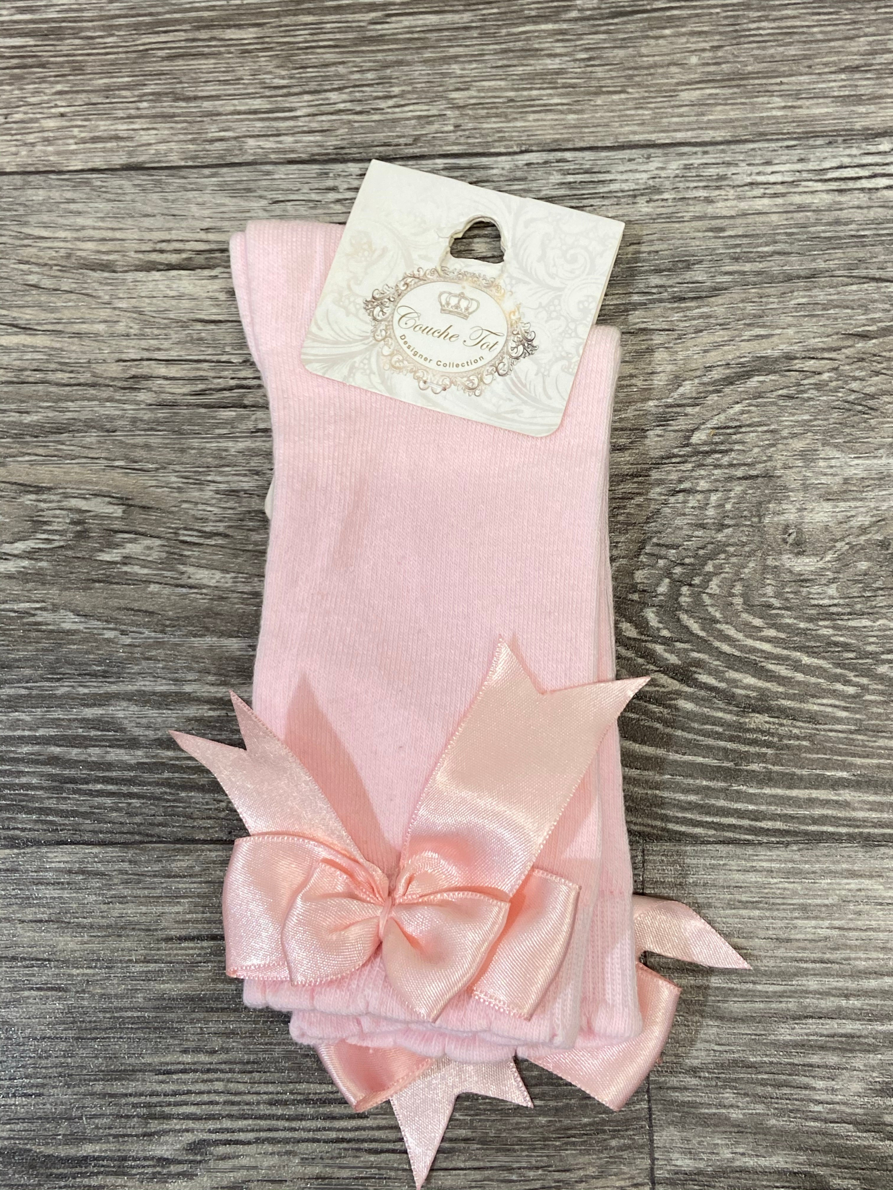Couche Tot Pink Bow Socks