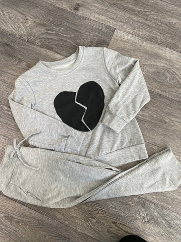 Love heart Grey Lounge Suit