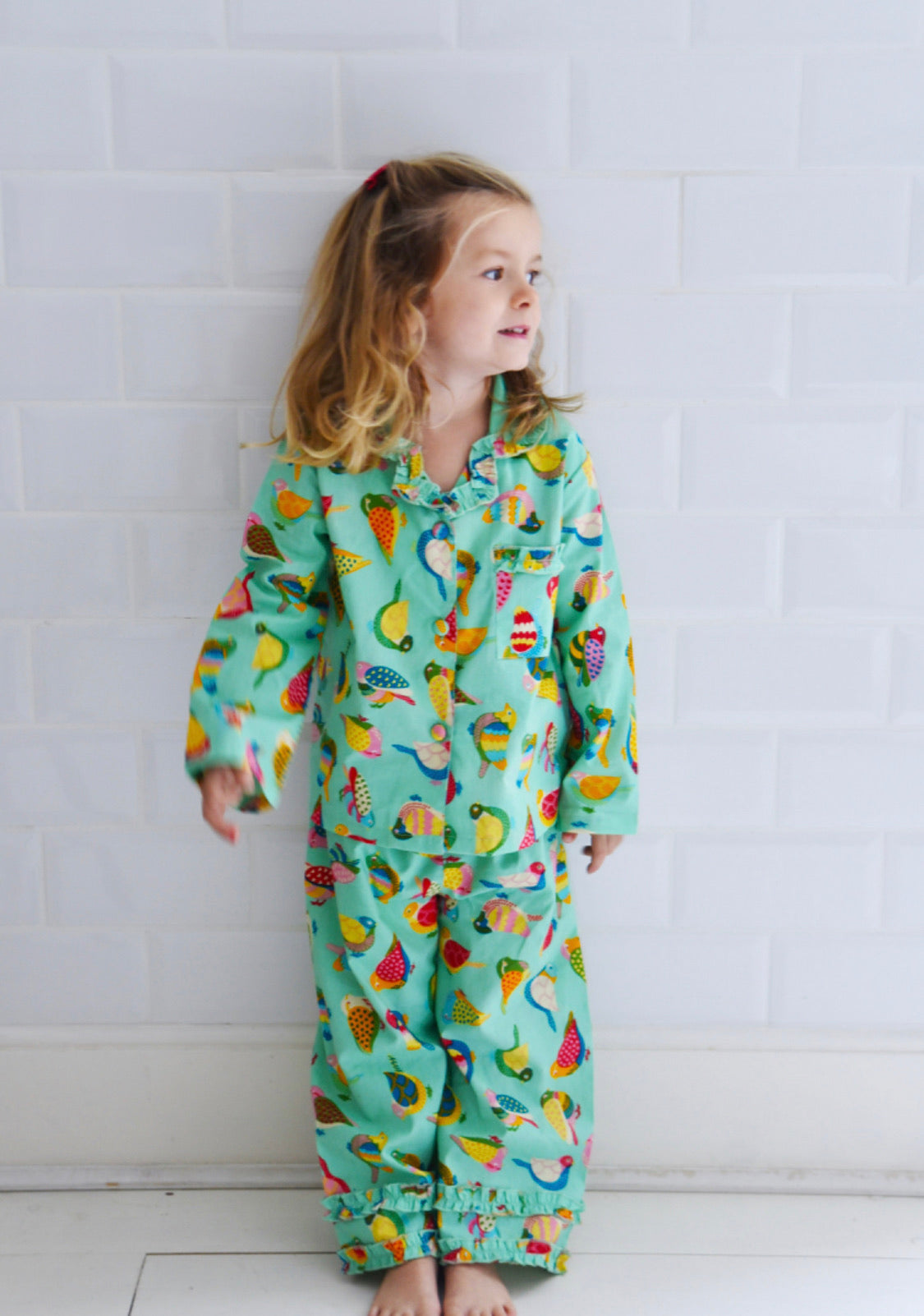 Powell Craft Birds of Paradise Button PJs