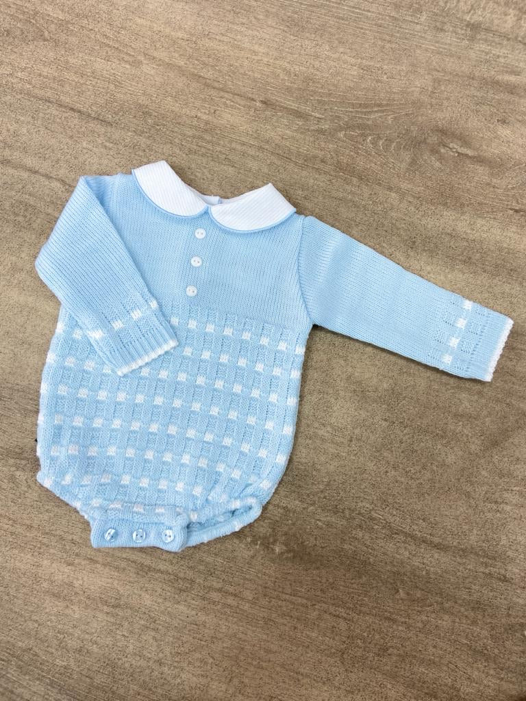 Rory Peter Pan Onesie Sky Blue