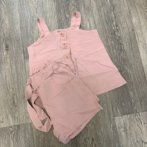 Special Offer Molly Short Set Dusty Pink