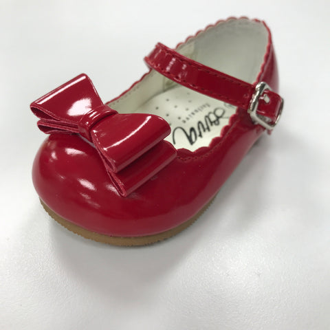 Red Elena Patent Shoe