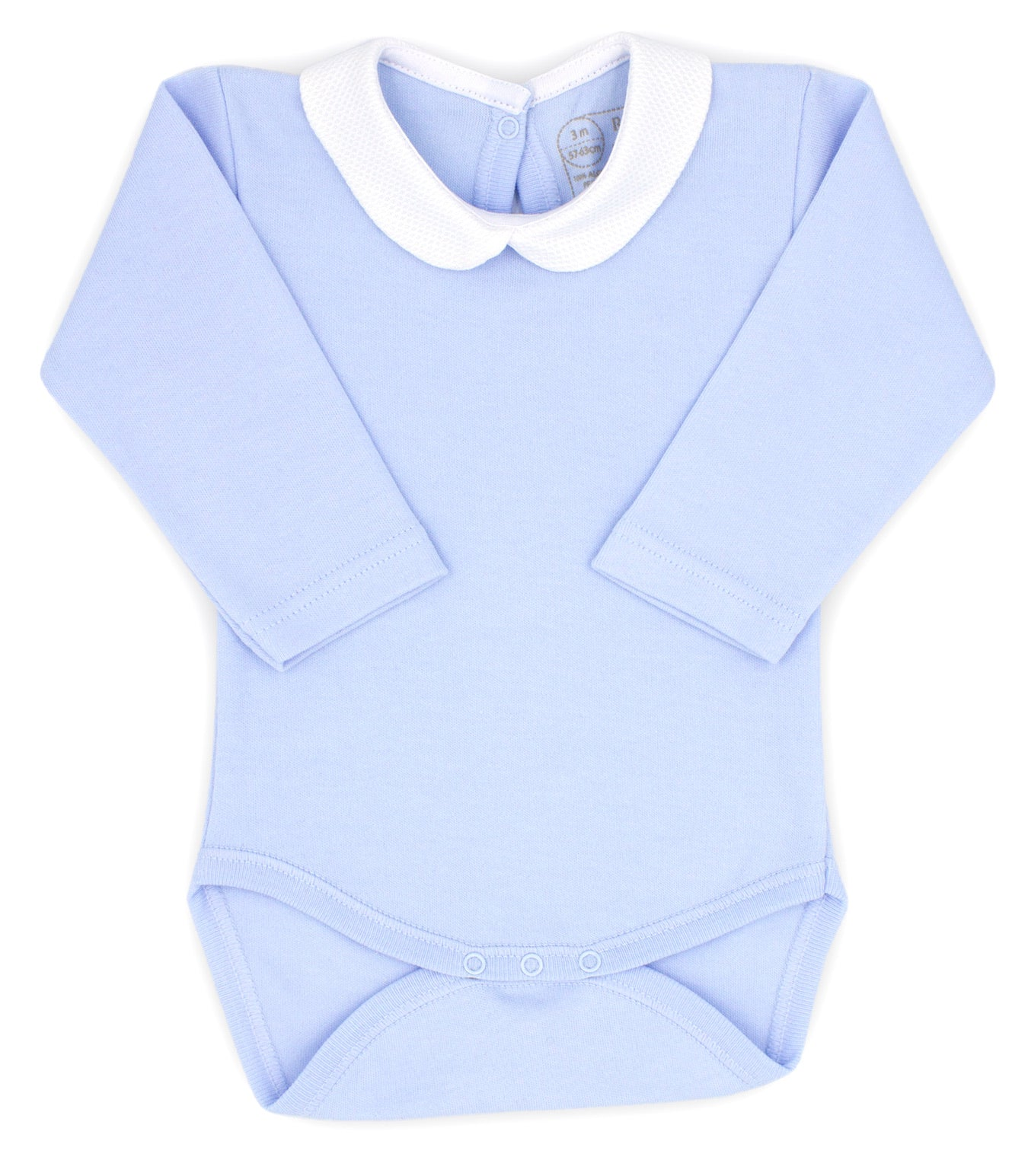 Rapife AW20 Peter Pan Collar Bodysuit Sky Blue