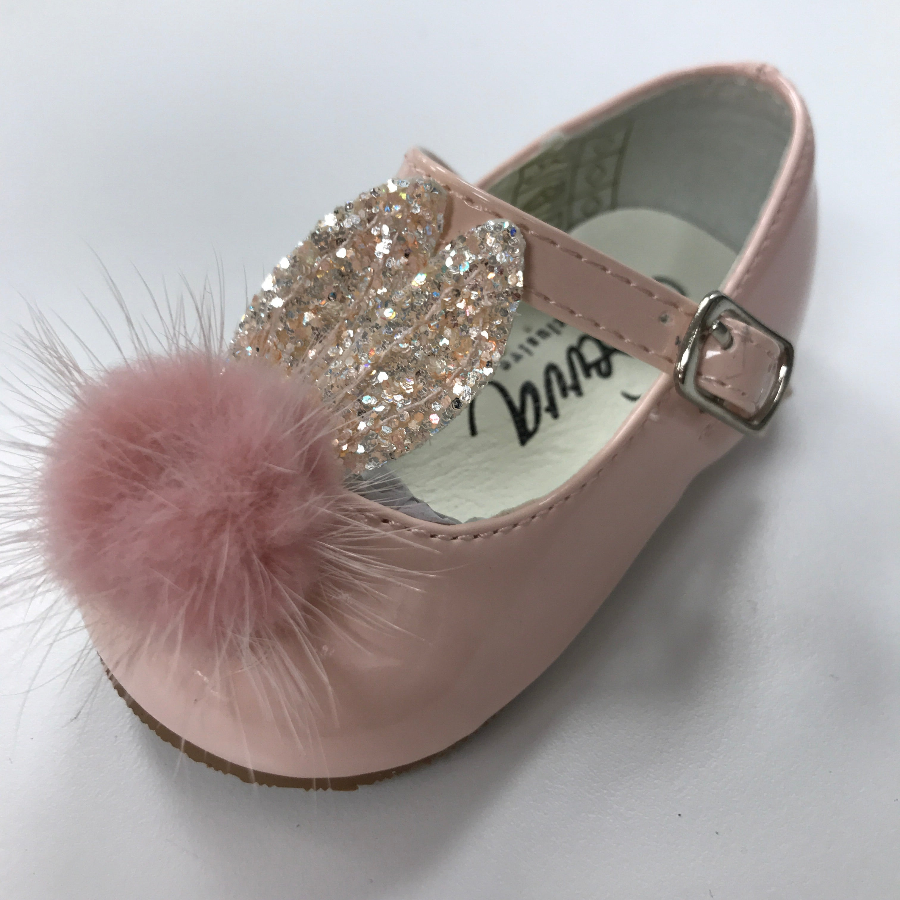Bunny Pink Patent Shoe