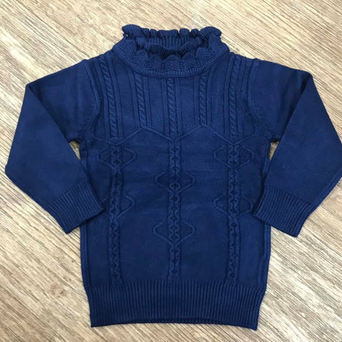 Beau Kid Navy Luxury Knit Jumper