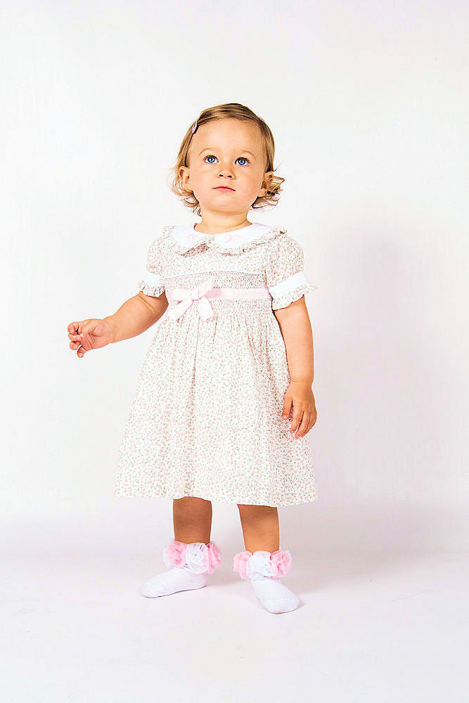 Beau Kid Elsa Smock Dress