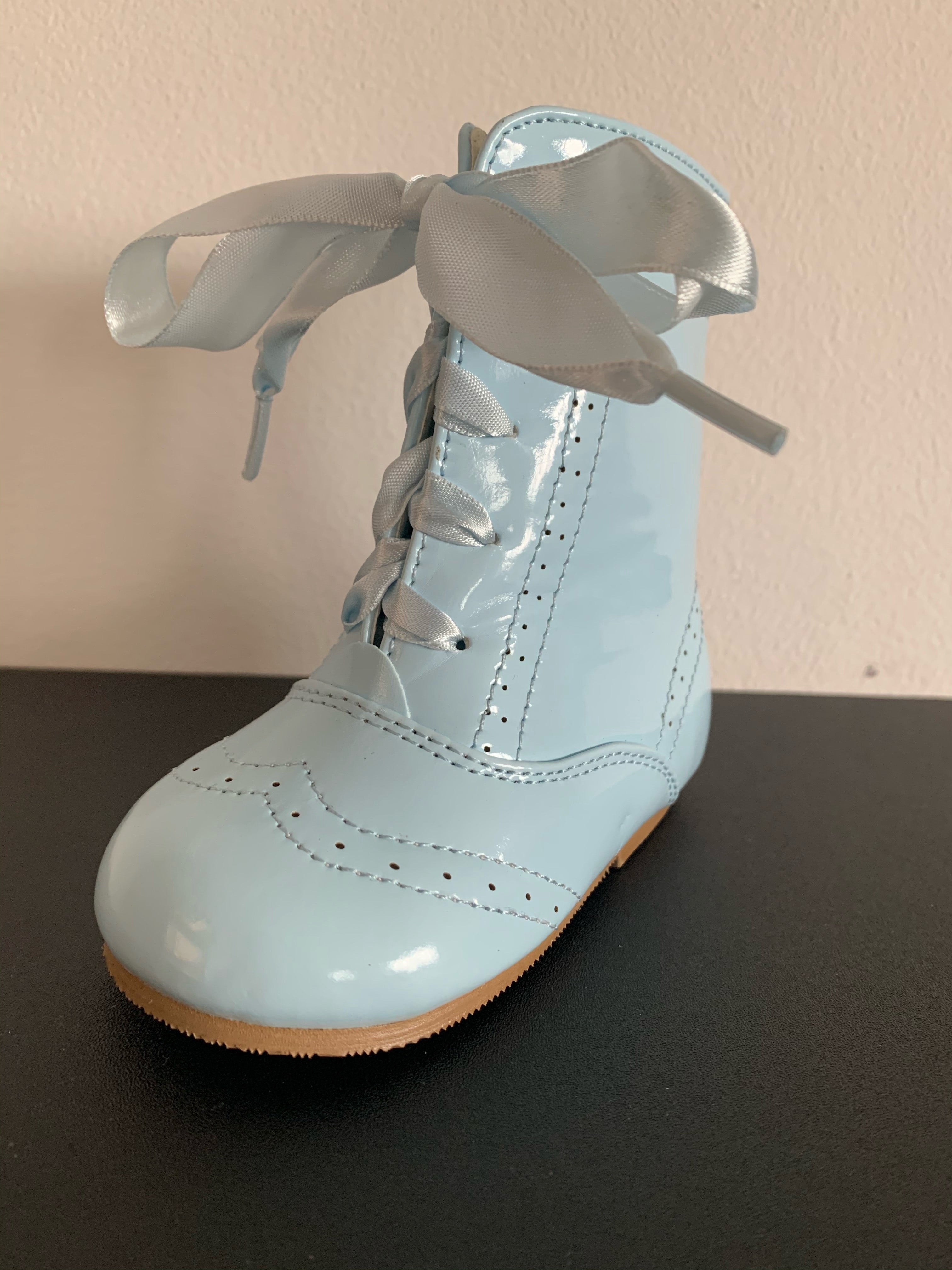 Sky Blue Isabelle Boots