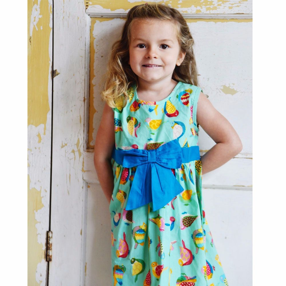 Powell Craft Birds of Paradise Dress