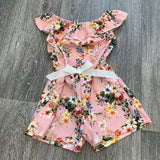 Floral Playsuit Pink