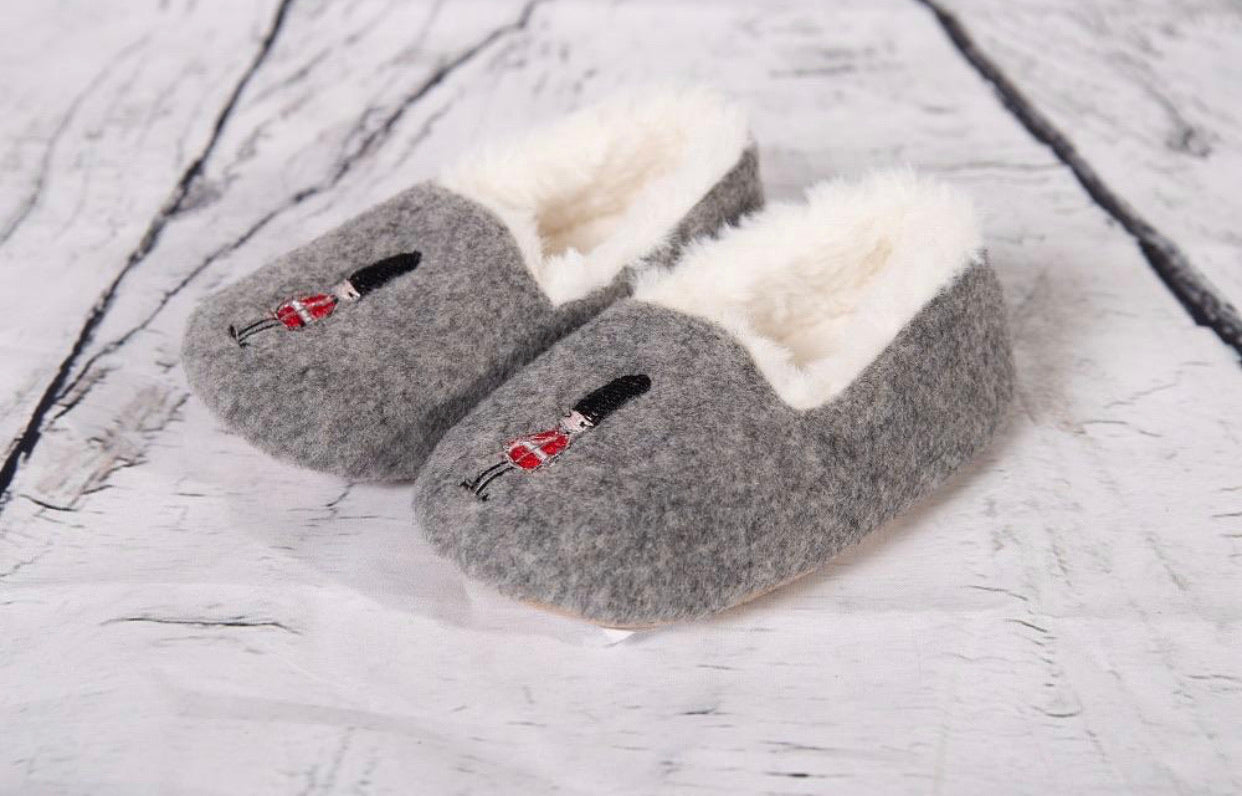Beau Kid Solider Slippers