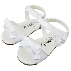 Alani White Patent Sandals