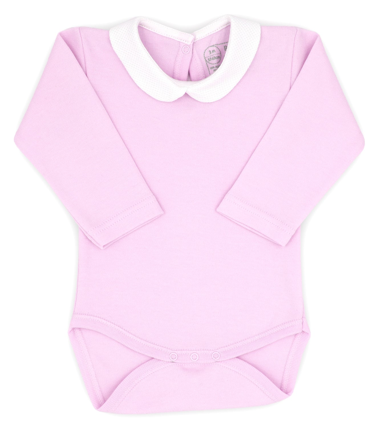 Rapife AW20 Peter Pan Collar Bodysuit Pink