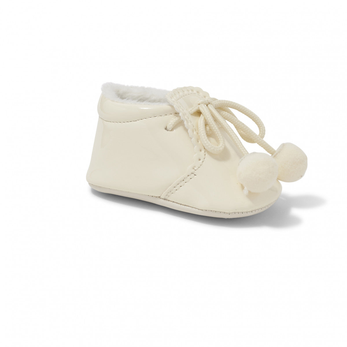 Joe Cream Pom Pom Pram Shoe