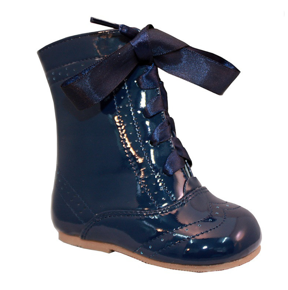 Navy Isabelle Boots