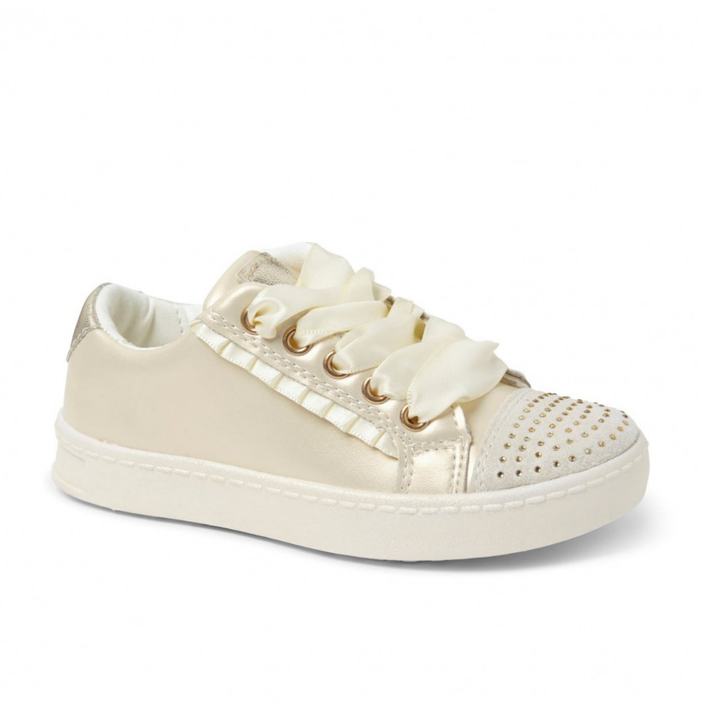 Pearl Ribbon Trainers