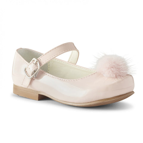 Piper Pink Hard Sole Shoes