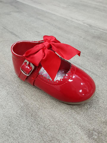 Red Kylie Bow Shoe