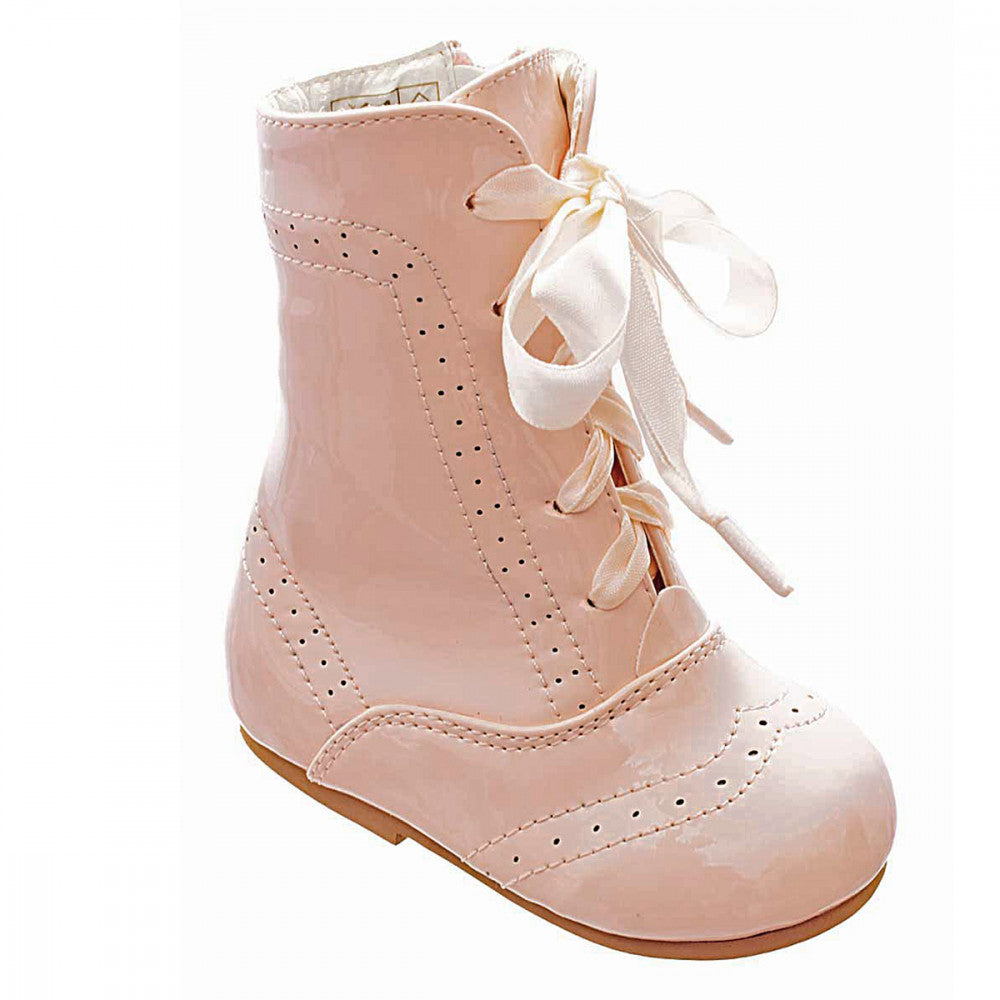 Pink Isabelle Boots