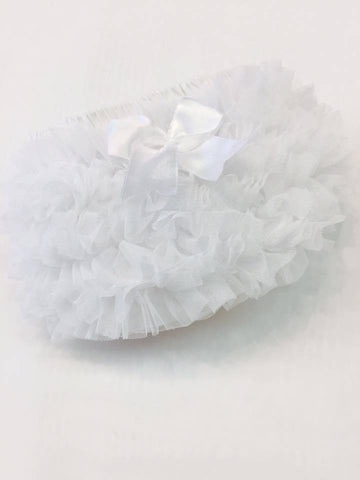 White Frilly Tutu Pants