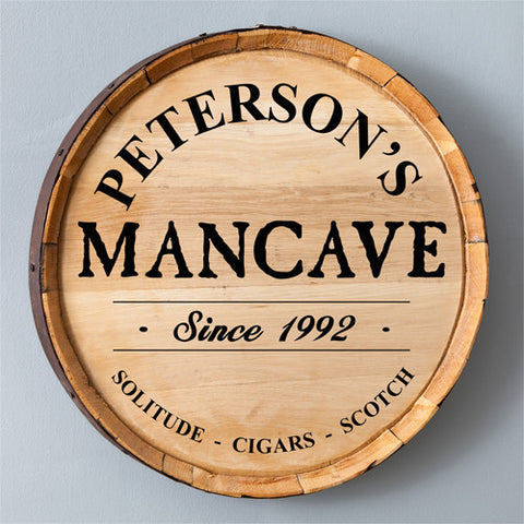 Personalized Barrel Signs