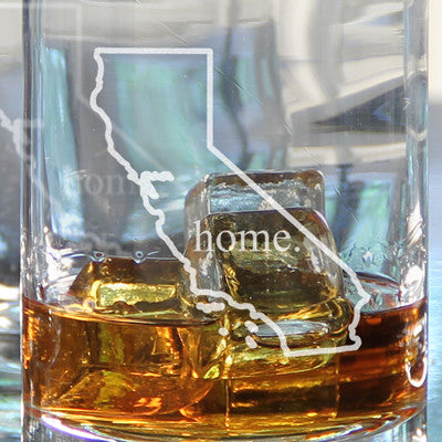 Home State Drinking Glasses (Set of 4)
