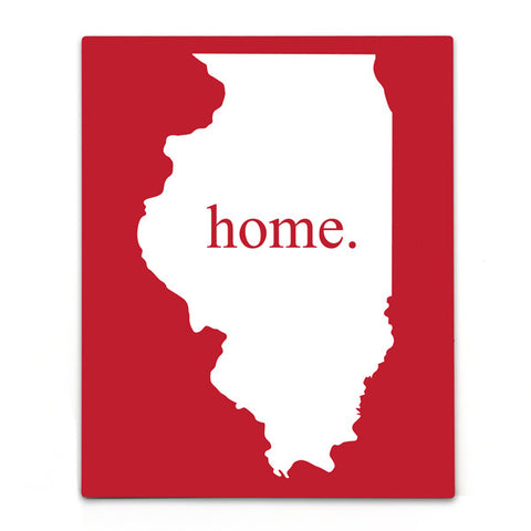 Home State Aluminum Bar Sign