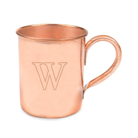 Personalized Moscow Mule Copper Mug w/ Polishing Cloth