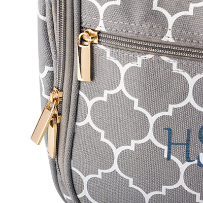 Personalized Women's Moroccan Hanging Cosmetic Bag