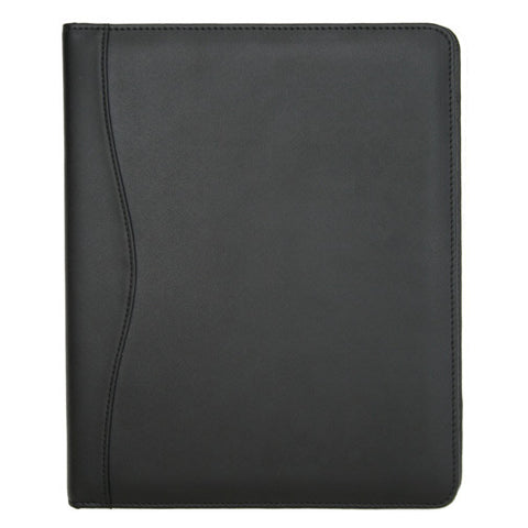 Black Leather iPad 2 & New iPad Case