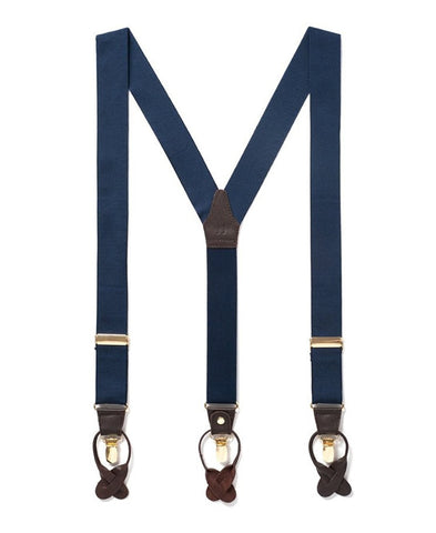 Royal Sapphire - Formal Navy Suspenders