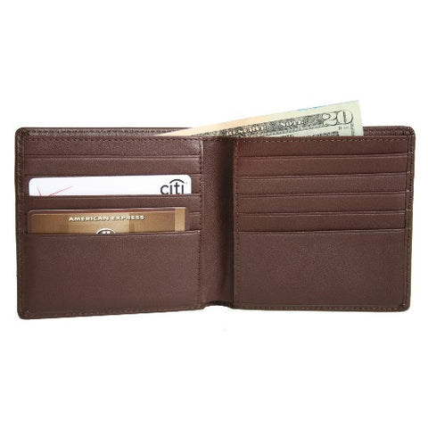 Personalized Nappa Leather Hipster Wallet