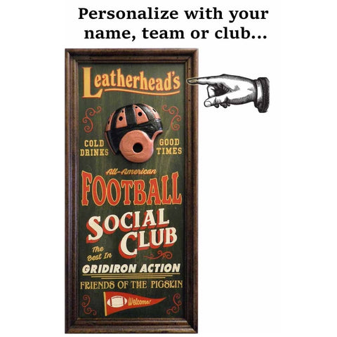Personalized Vaudeville Sign