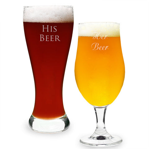 His & Hers Pilsner Set