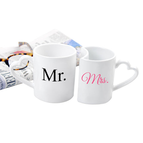 10 oz. Mr. & Mrs. Coffee Mug Set