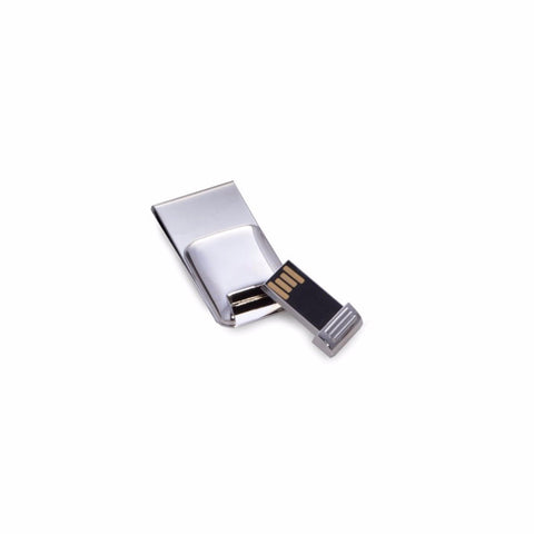 Techno Money Clip with USB Flash Drive