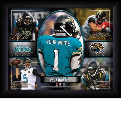 Personalized NFL In the Game Sign - All Teams