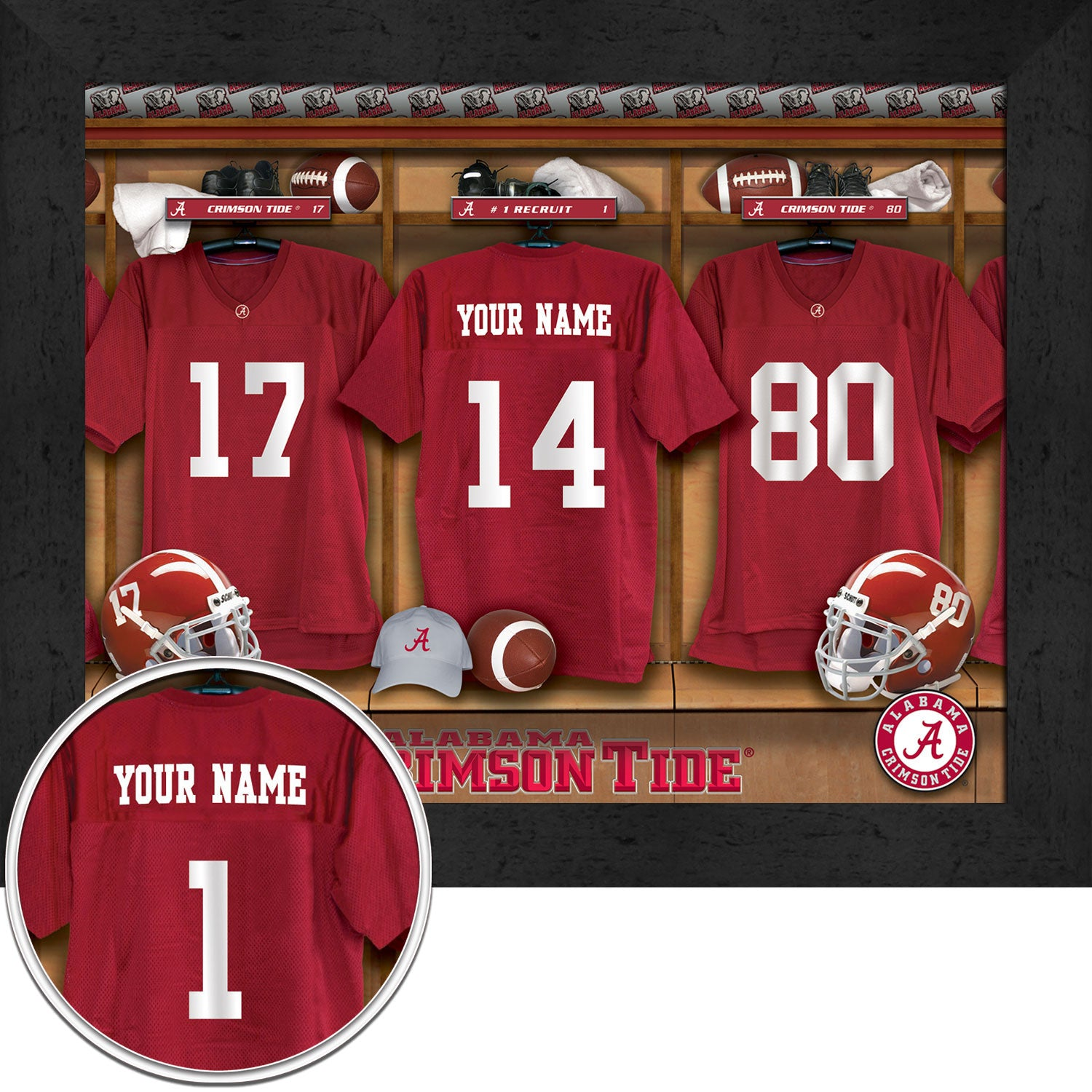 e53ab0c9dd6 Personalized. Loading zoom. PreviousNext. 1  2. Personalized College  Football Locker Room Signs - Alabama Crimson Tide