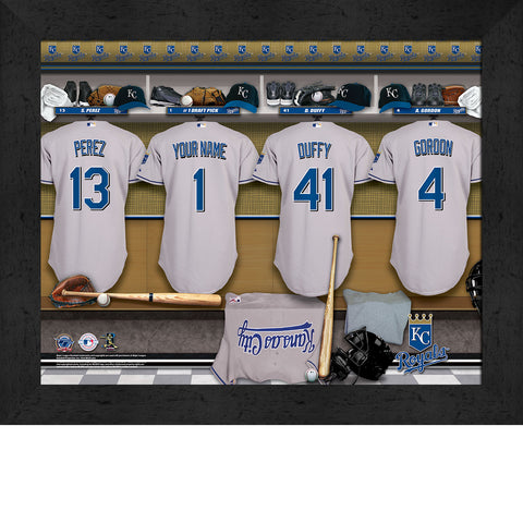 Personalized Kansas City Royals MLB  Locker Room Sign