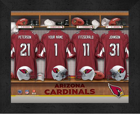 Personalized NFL Locker Room Signs - Arizona Cardinals