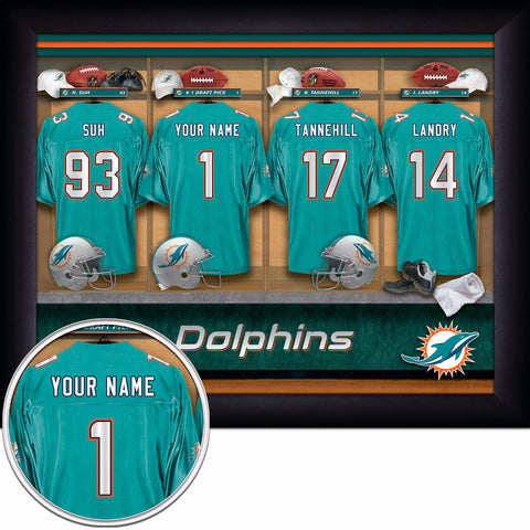 Personalized NFL Locker Room Signs - All Teams