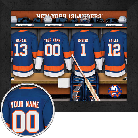 Personalized NHL New York Islanders Locker Room Sign