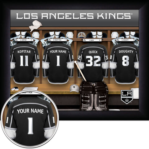 Personalized NHL Los Angeles Kings Locker Room Sign