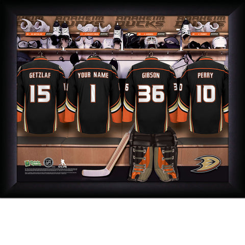 Personalized NHL Anaheim Ducks Locker Room Sign