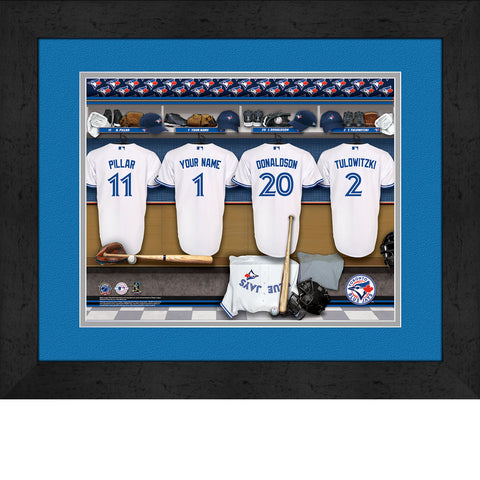 Personalized Toronto Blue Jays MLB Locker Room Sign