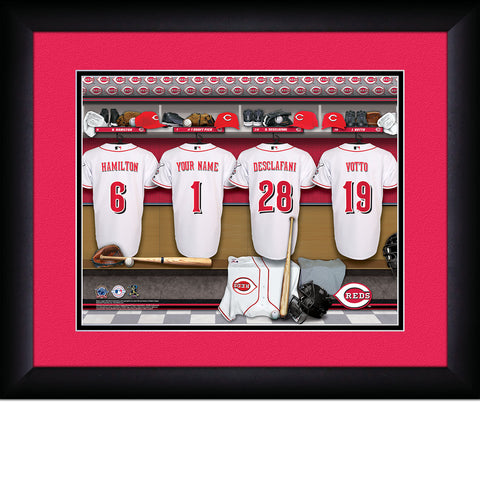 Personalized Cincinnati Reds MLB  Locker Room Sign