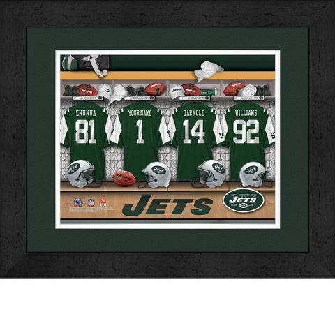 Personalized NFL Locker Room Signs - New York Jets