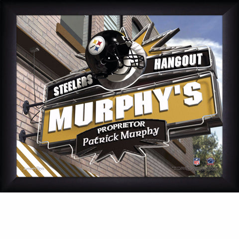 Personalized NFL Pub Sign - All Teams