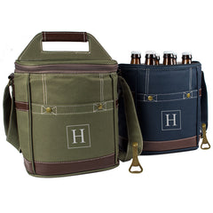 NEW Personalized Craft Beer 6 Pack Bottle Cooler