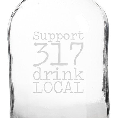 Personalized Drink Local Craft Beer Growler