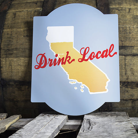 Personalized Drink Local State Bar Sign